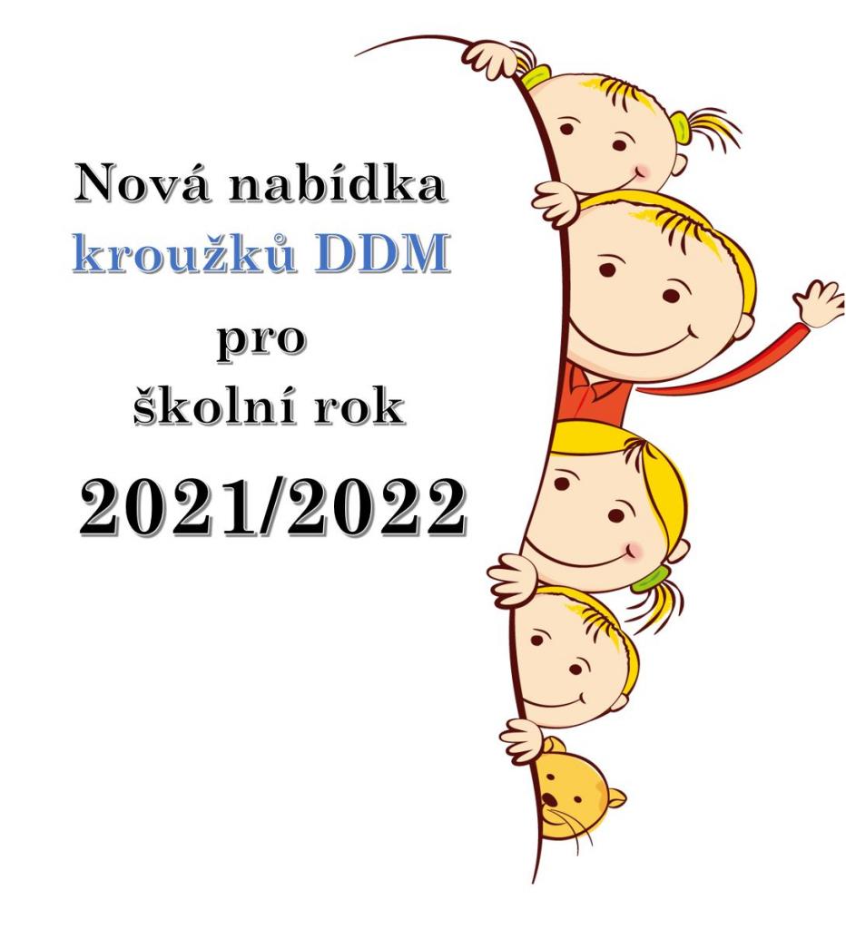 Máme pro Vás novou nabídku kroužků 2021/2022